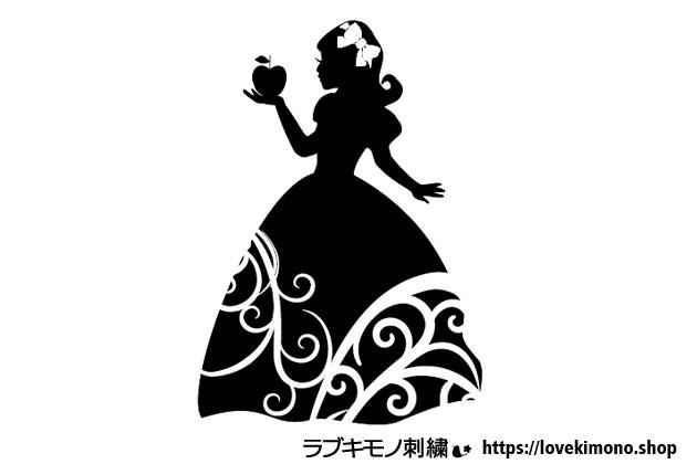 白雪姫下絵図案