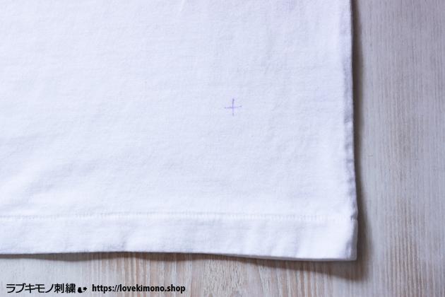 らぶきもの刺繍の刺繍の下準備
