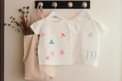らぶ着物刺繍データをTシャツに刺繍