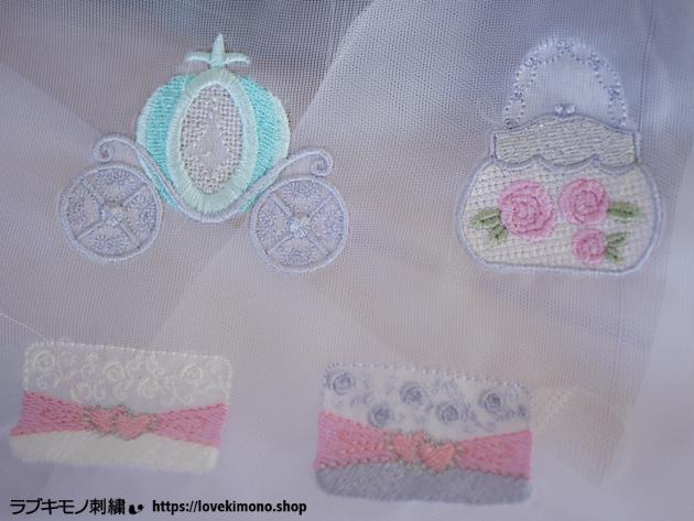 シンデレラ刺繍