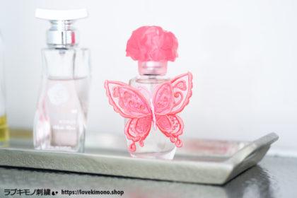 簡単にできる♪「オーガンジー立体刺繍の蝶々」の作り方